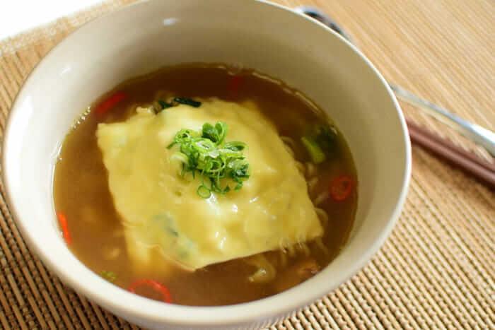 カムジャ麺完成