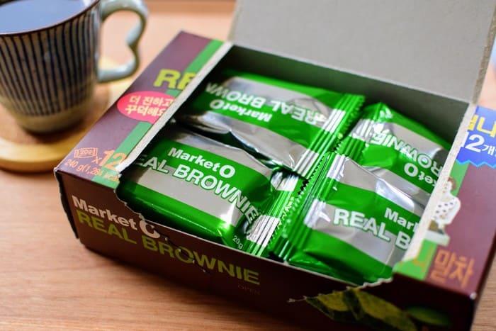 リアルブラウニー抹茶2
