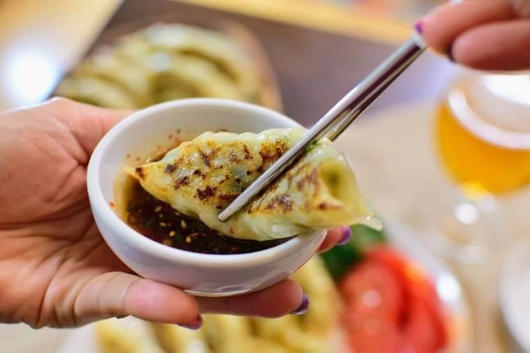 ビビゴ王餃子実食