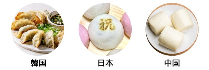 三国の饅頭