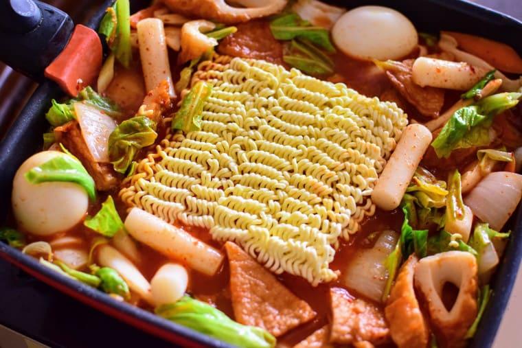 トッポギサリ麺