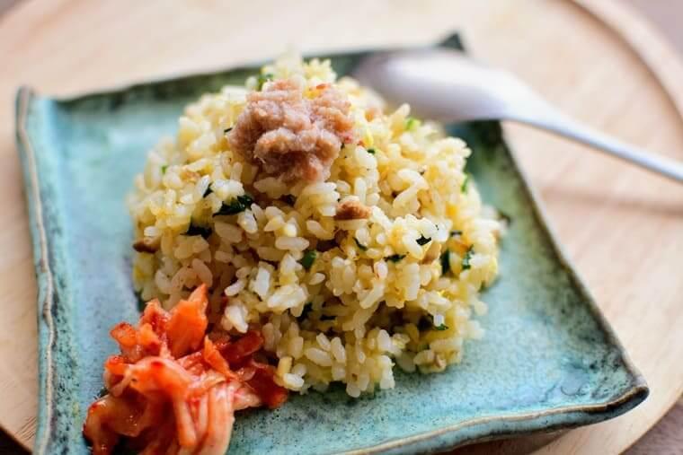 ヨンドクケ(盈徳蟹)炒め飯