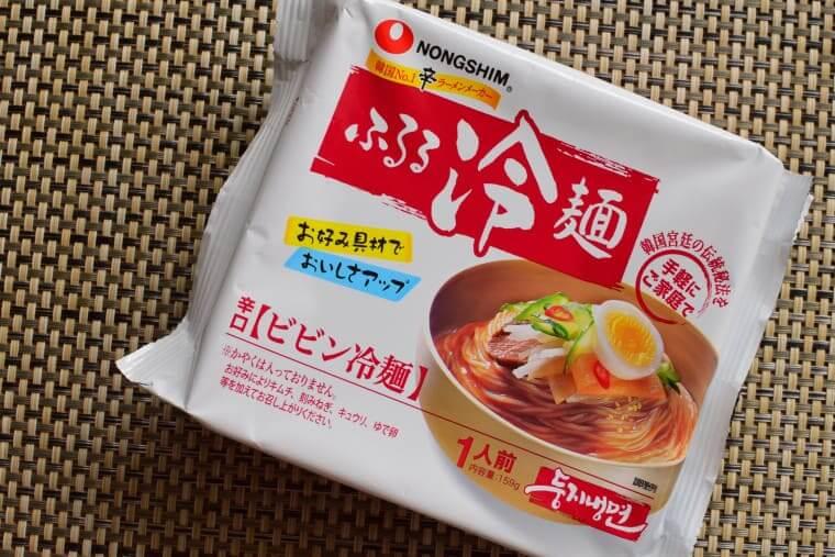 ふるるビビン冷麺袋