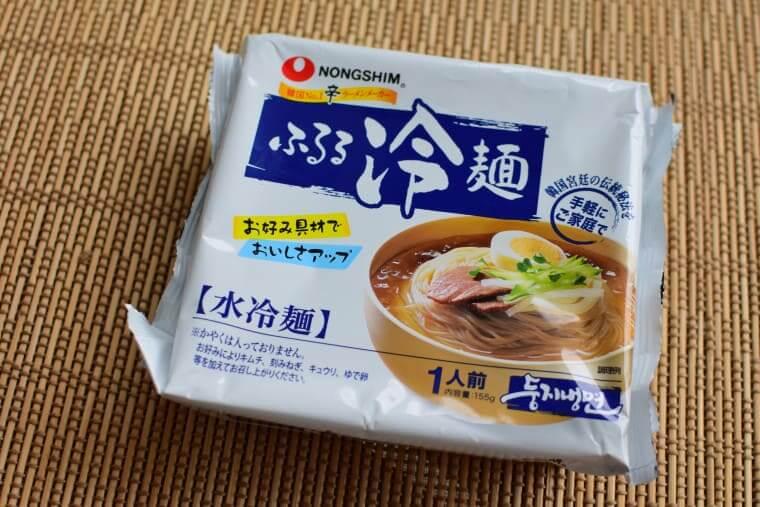 ふるる水冷麺パッケージ