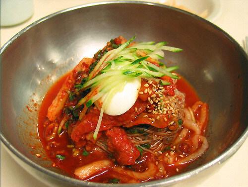 ハムンビビン冷麺