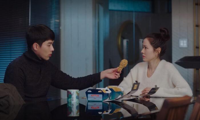 韓国ドラマの食