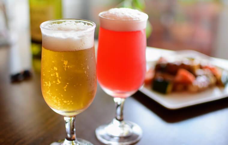 美酢美酢とビール