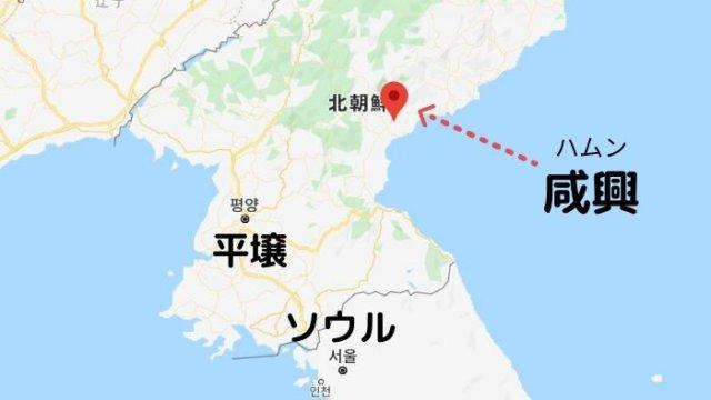 ハムン地図
