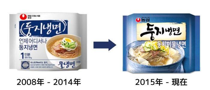 韓国ふるる水冷麺パッケージ