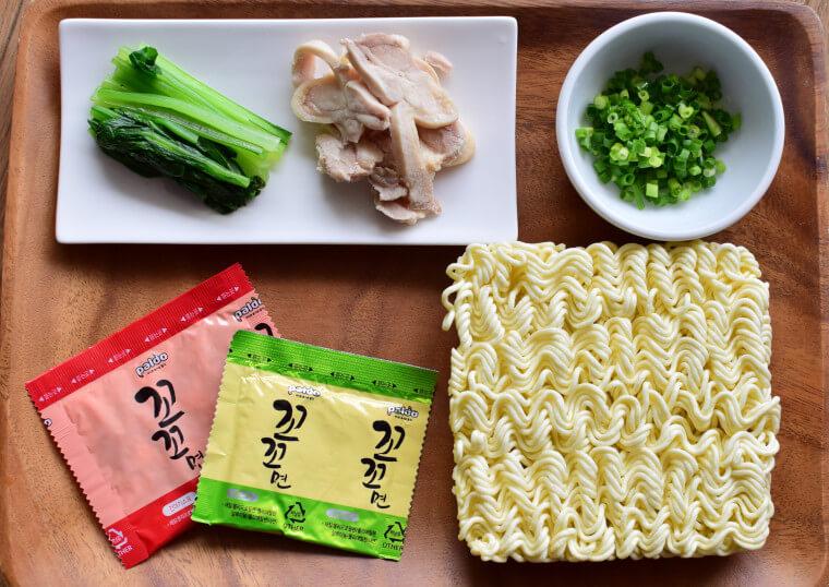 ココ麺材料