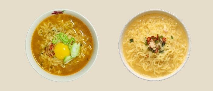 韓国スープラーメン