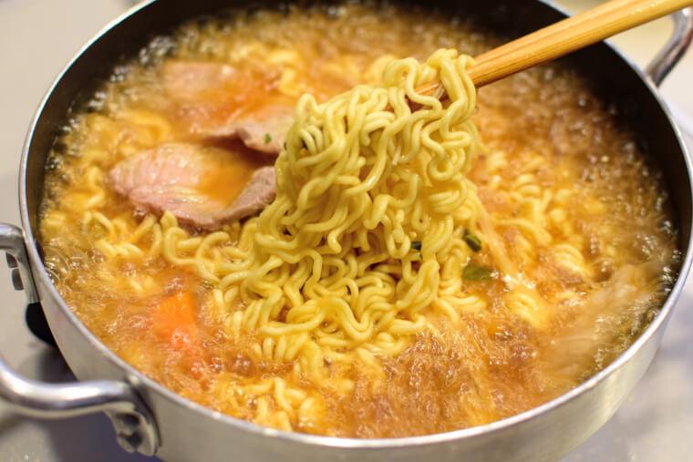 三養ラーメン麺