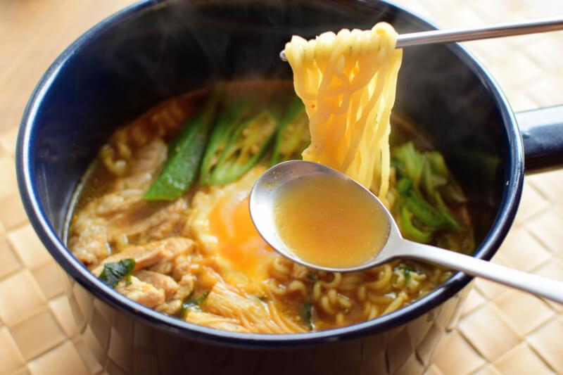 安城湯麵出来上がり麺