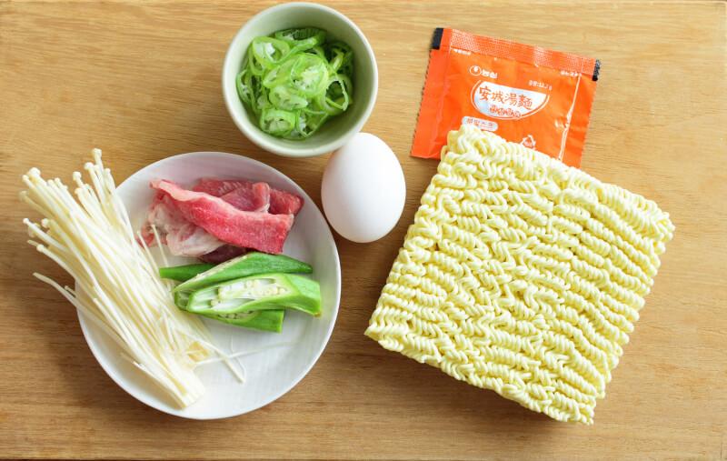 安城湯麵材料