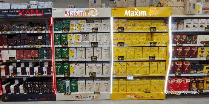 コーヒー種類多い