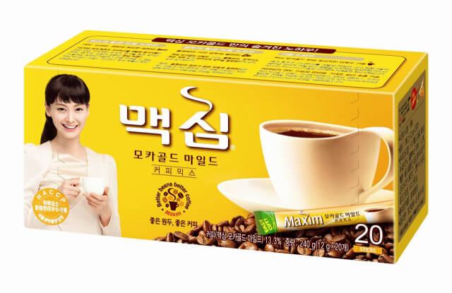 韓国インスタントスティックコーヒー