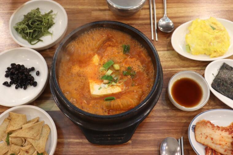 韓国キムチチゲ