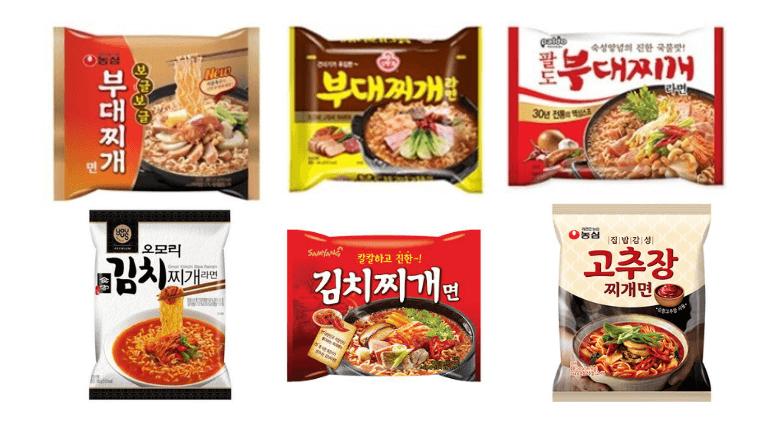 韓国のチゲラーメン